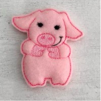 Piggy Brooch Pins