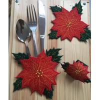 Poinsettia Tableware Set