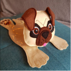 Pug Mug Coaster