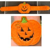 Pumpkin Light Up Wrist Strap
