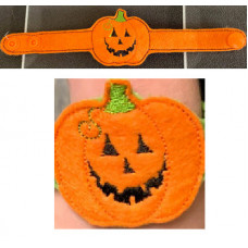 Pumpkin Light Up Wrist Strap