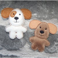 Puppy Brooch Pins