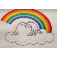 Rainbow Angel Baby