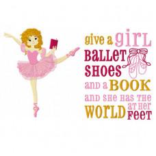 Reading Ballet Dancer Set