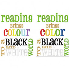 Reading Brings Colour