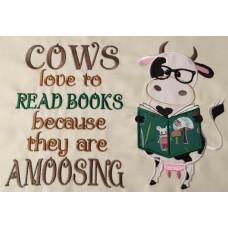 Reading Cow