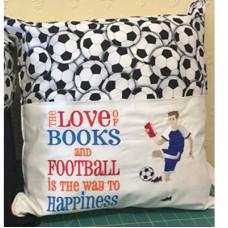 Reading Football/Soccer Boy