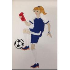 Reading Football/Soccer Girl