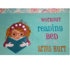 Reading Study Girl Set