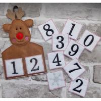 Reindeer Countdown Calendar
