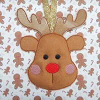 Reindeer Face Hanger
