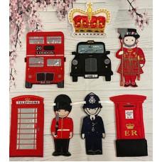 Retro London Banner