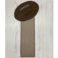Rugby Bookmark