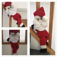 Santa Curtain Tie Back