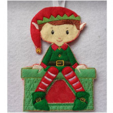 Santa Elf Treat Bag