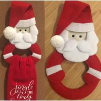 Santa Towel Ring