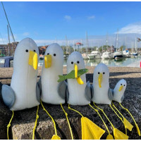 Seagull Shelf Sitters