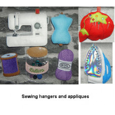 Sewing Hangers Complete Set