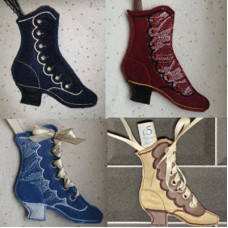 Shoe Pomander Gift Bag