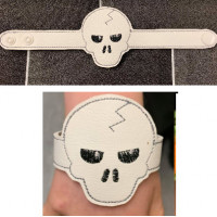 Skull Light Up Wrist Strap