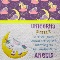 Sleeping Unicorn and Verse Set