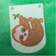 Sloth Applique Bunting