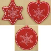 Snowflake Hangers