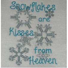 Snowflake Kisses from Heaven