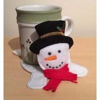 Snowman Mug Coaster