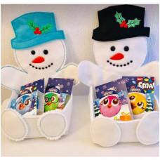 Snowman Sweet Tray