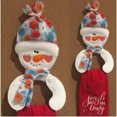 Snowman Towel Ring