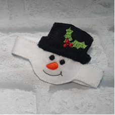 Snowman Wrist Strap