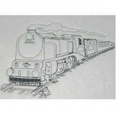 Steam Train Sketch
