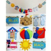 Summer Fun Beach Banner