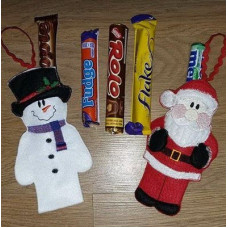 Sweet Treat Holders - Santa or Snowman