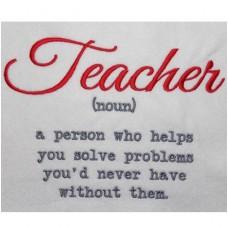 Teacher Noun Word Art