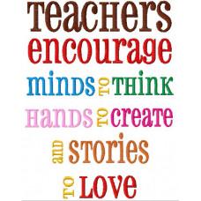 Teachers Encourage