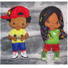 Teenage Boy and Girl Set B