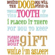 Tooth Fairy / Elf Verse