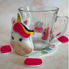 Unicorn Mug Coaster