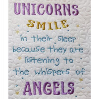 Unicorns Smile Verse