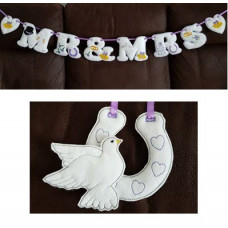 Wedding Banner and Embellishments