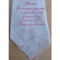 Wedding Hankie Verses
