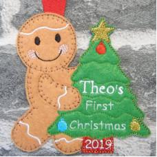 Ginger Christmas Tree Hanger
