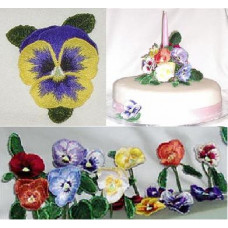 Free Standing 3D Pansy